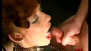 This German Big Tit Whore Loves Semen on Her Face!